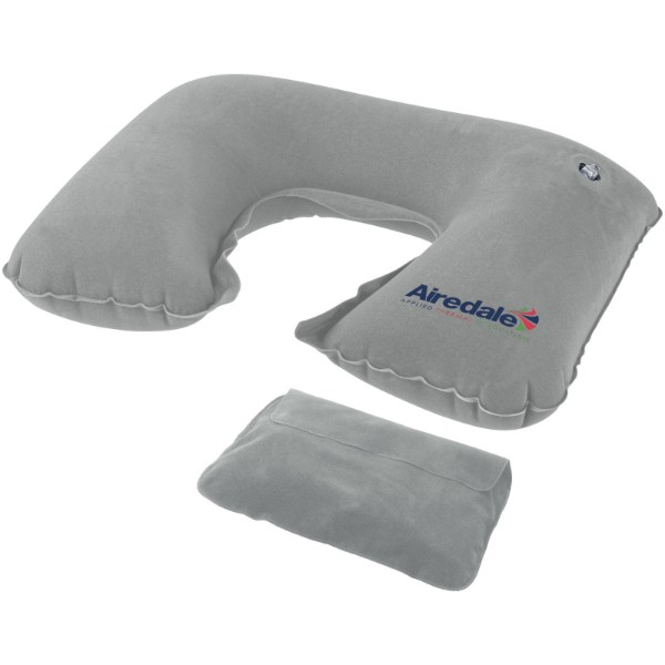 Detroit inflatable pillow - Grey