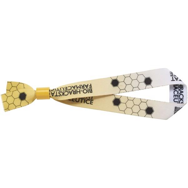El sublimation festival bracelet double - Yellow