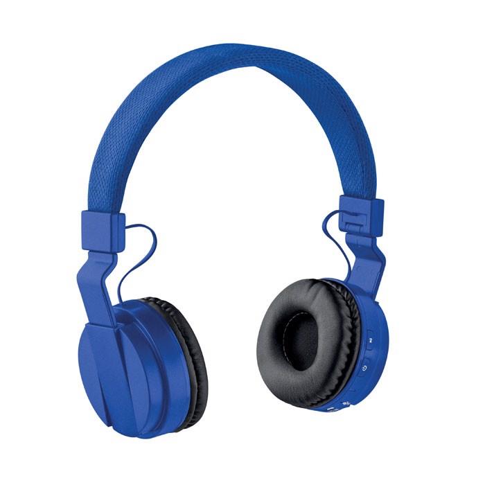 Foldable wireless Headphone Pulse - Royal Blue