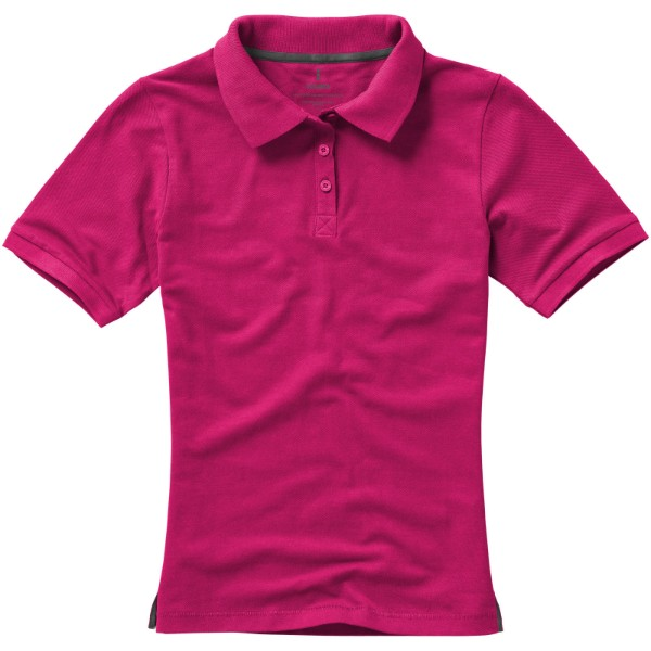 Calgary short sleeve women's polo - Magenta / XS