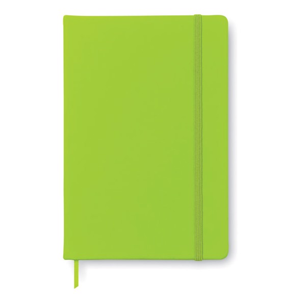 A5 notebook lined Arconot - Lime