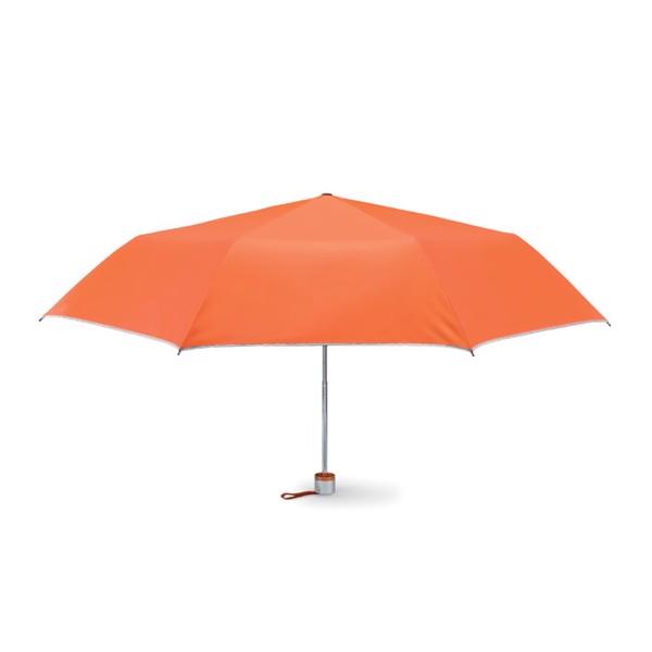 Parasol składany na 3 Cardif - pomarańczowy