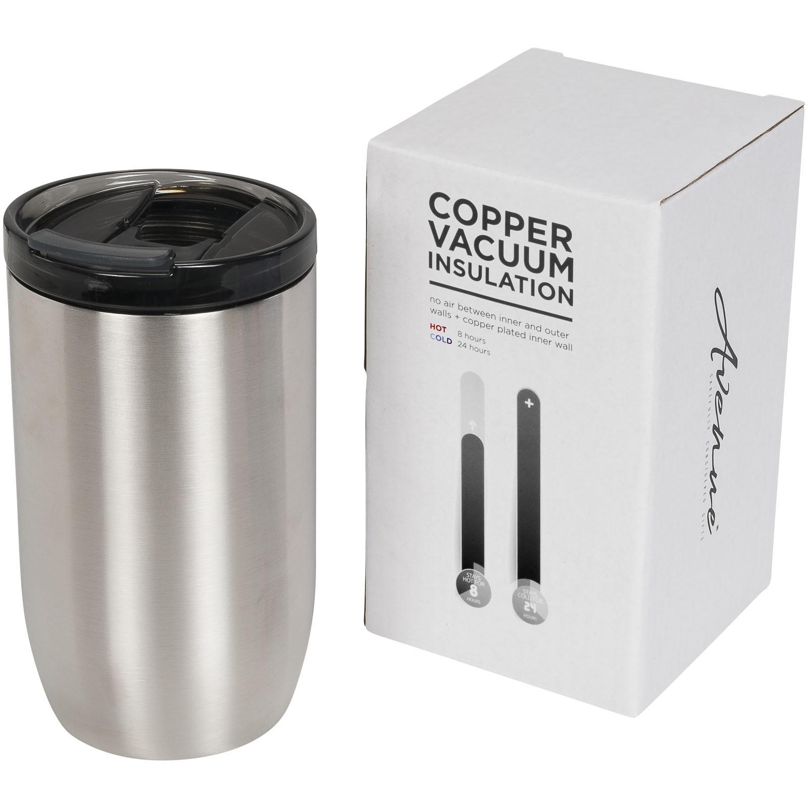 Lagom 380 ml copper vacuum insulated tumbler - Silver