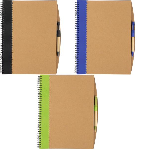 Cuaderno de cartón - Blue