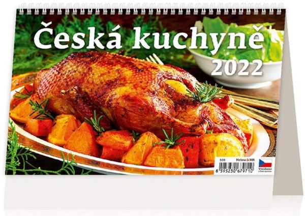 Týdenní kalendář Česká kuchyně 2022
