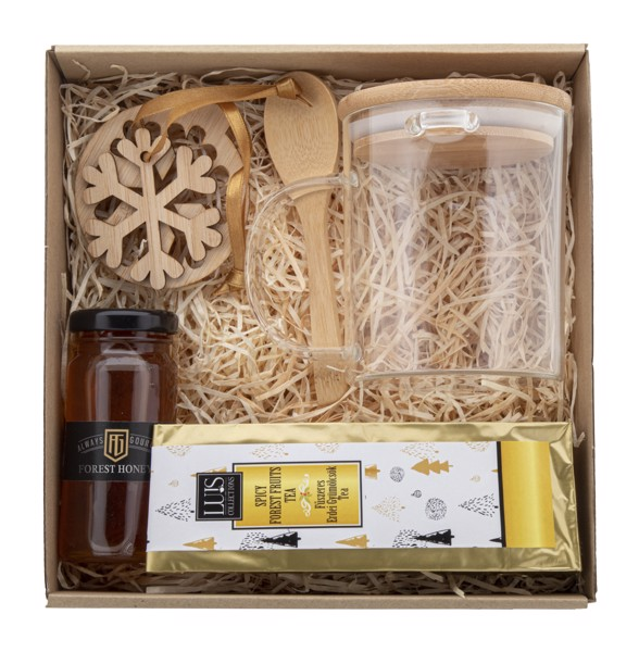 Tea Gift Set Bamburor - Natural