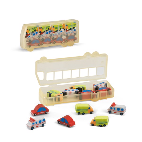 CAR. Rubber set