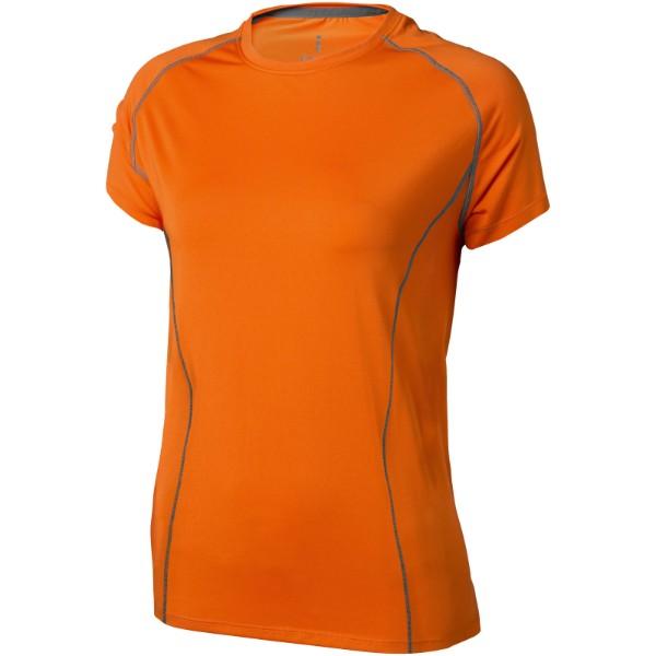 Dámské triko Kingston s krátkým rukávem, s povrchovou úpravo - Bílá / S