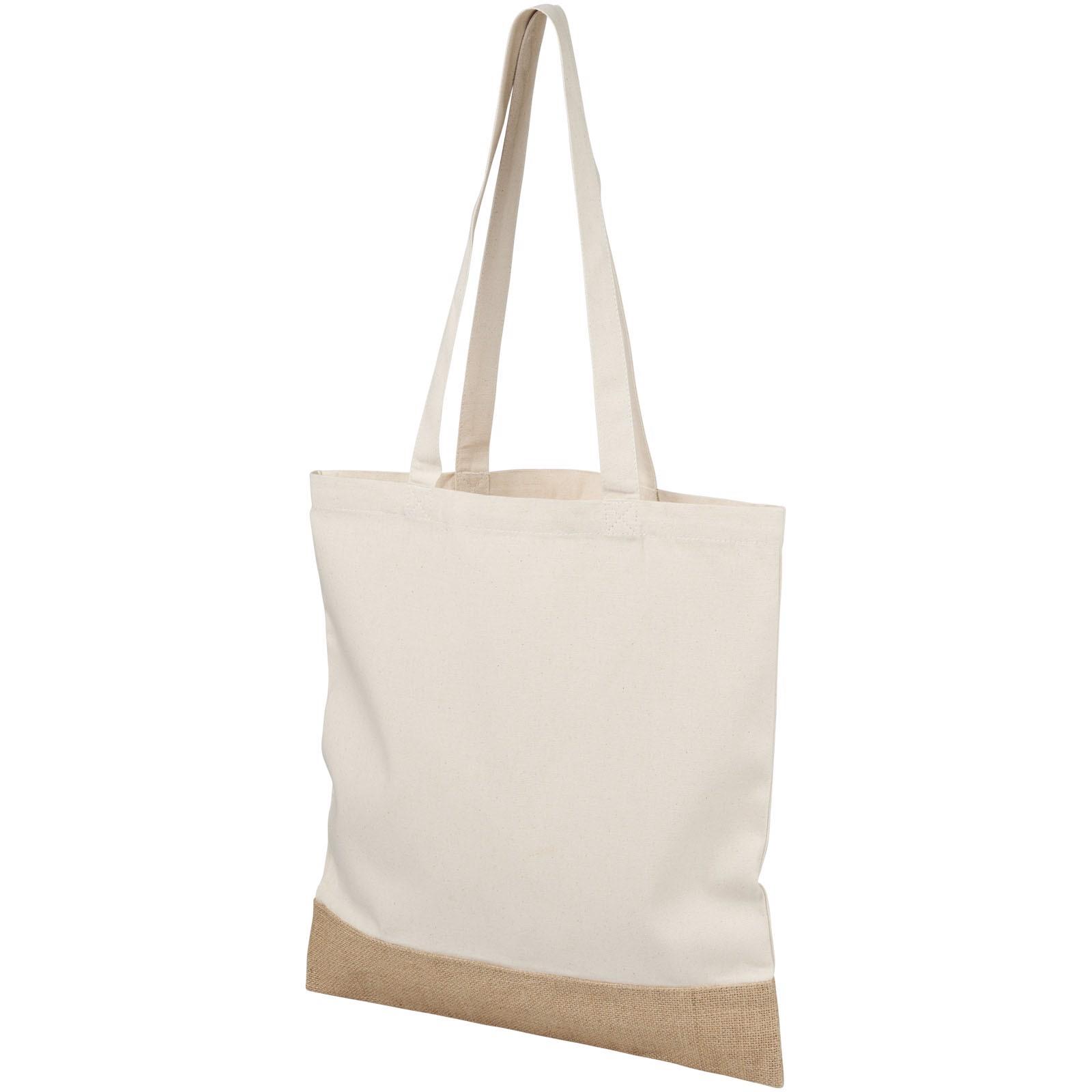 Delhi velká bavlněná jutová taška