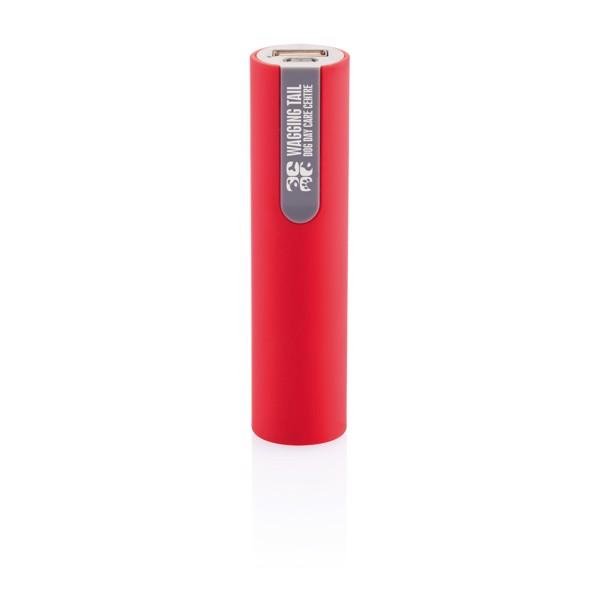 Powerbank 2200 mAh - Piros / Szürke