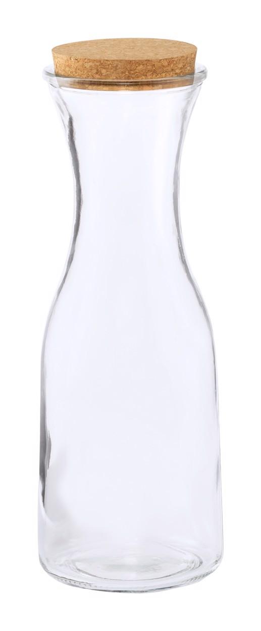 Karafa za vodo Lonpel - prozorna/Natural