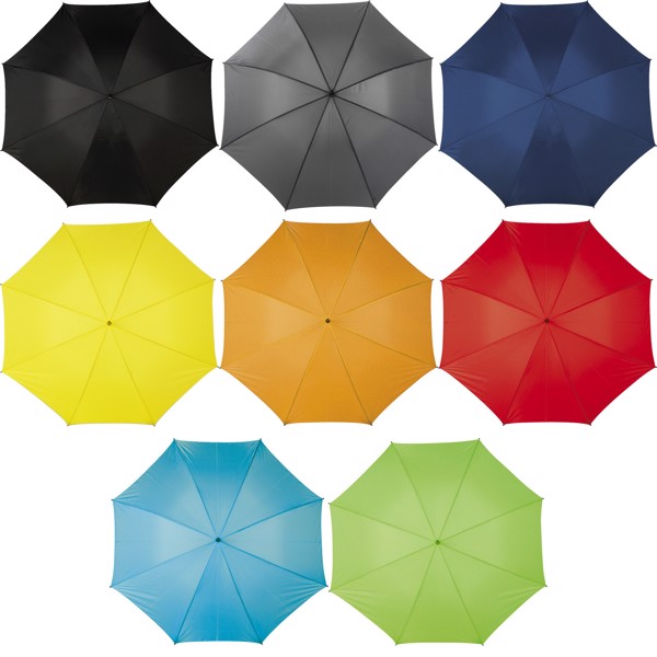 Polyester (210T) umbrella - Red