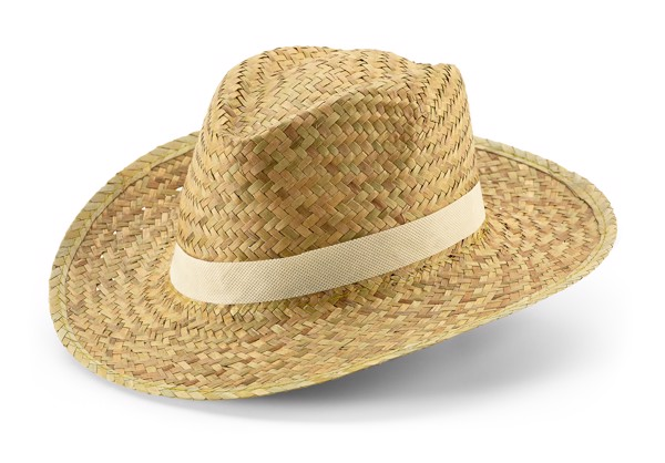JEAN. Natural straw hat