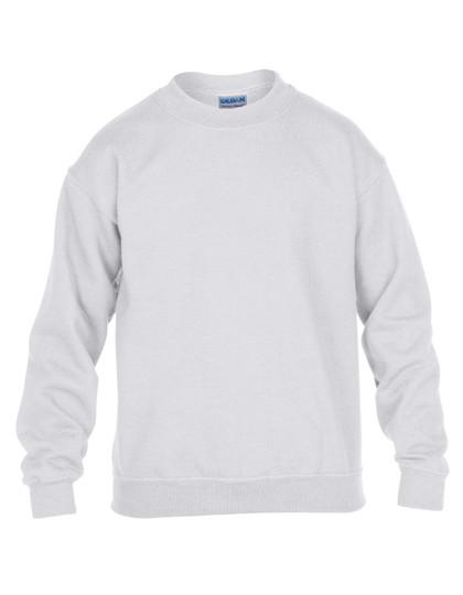 Heavy Blend™ Youth Crewneck Sweatshirt - White / L