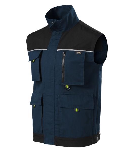 Pracovní vesta pánská Rimeck Ranger - Námořní Modrá / XL