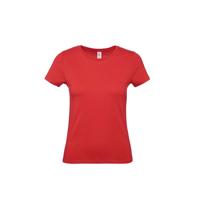T-shirt female 145 g/m² #E150 /Women T-Shirt - Red / M