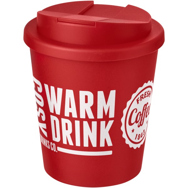 Americano Espresso® 250 ml tumbler with spill-proof lid - Red