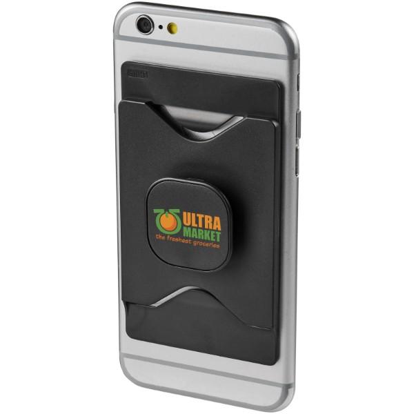 Purse držák mobilního telefonu s peněženkou - Černá