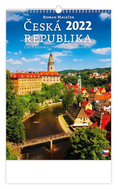 Měsíční kalendář Česká republika 2022