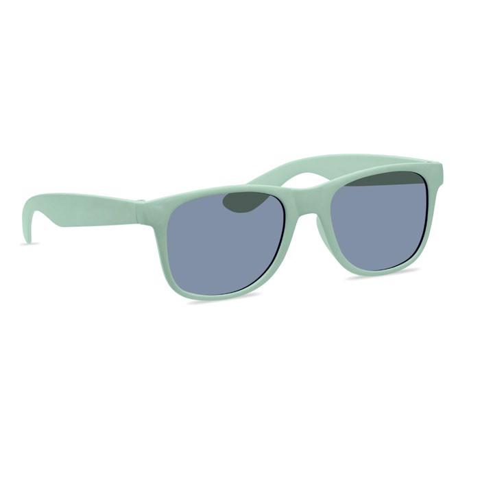 Gafas sol patillas em bambú/PP Bora - verde