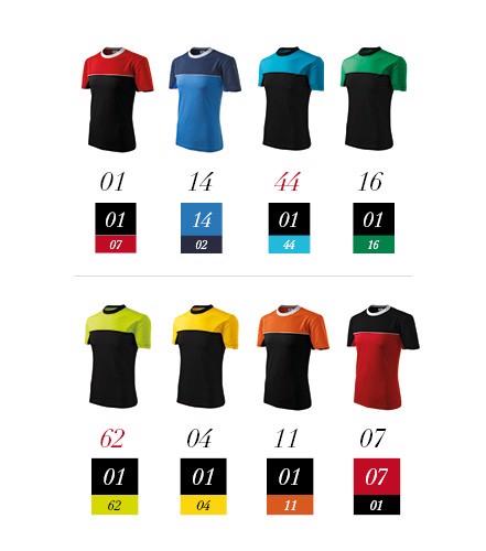 Tričko unisex Malfini Colormix - Tyrkysová / S