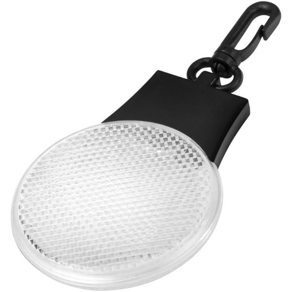 Odrazka a LED svítilna Blinki - Bílá