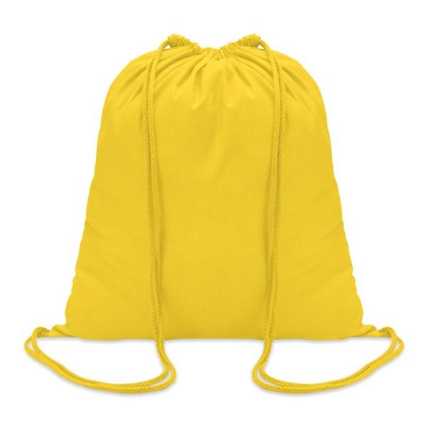 Worek bawełniany Colored - żółty