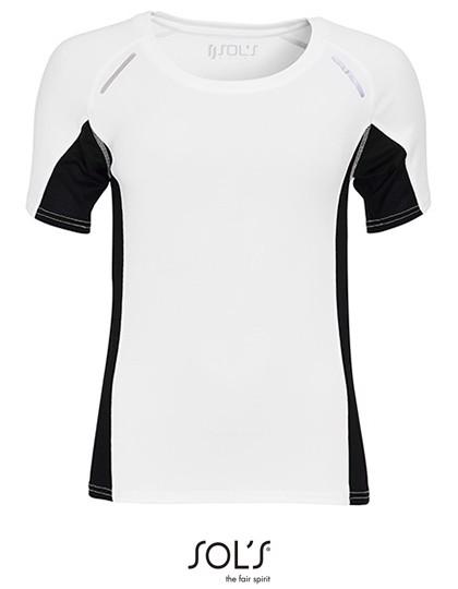 Women`S Short Sleeve Running Shirt Sydney - White / XXL