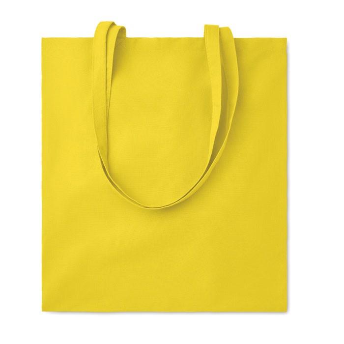 Bawełniana torba na zakupy Cottonel Colour ++ - żółty