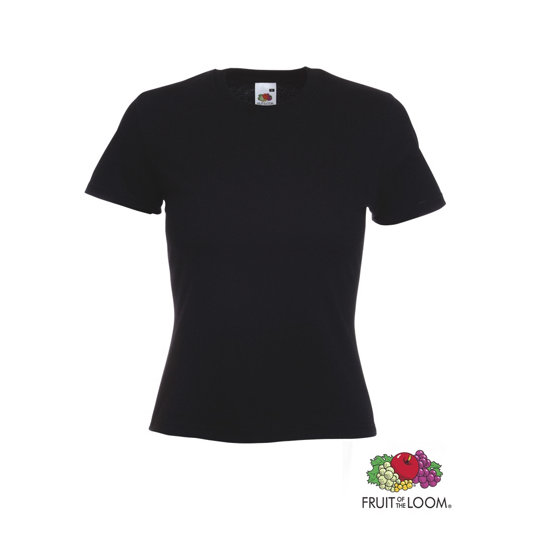 Camiseta Mujer Color Valueweight - Negro / L