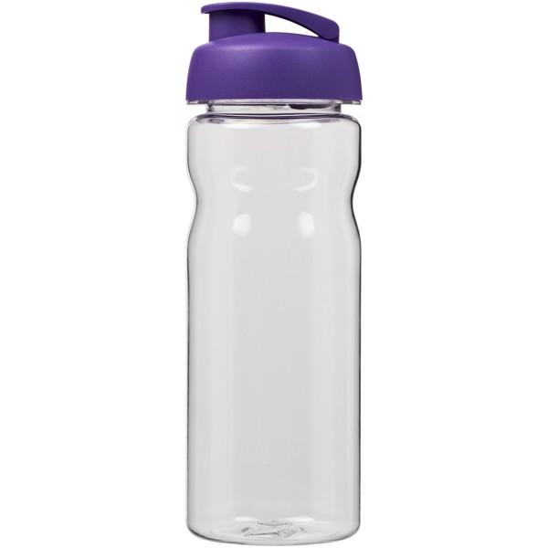 Sportovní láhev s vyklápěcím víčkem Base Tritan™ 650 ml - Průhledná / Purpurová