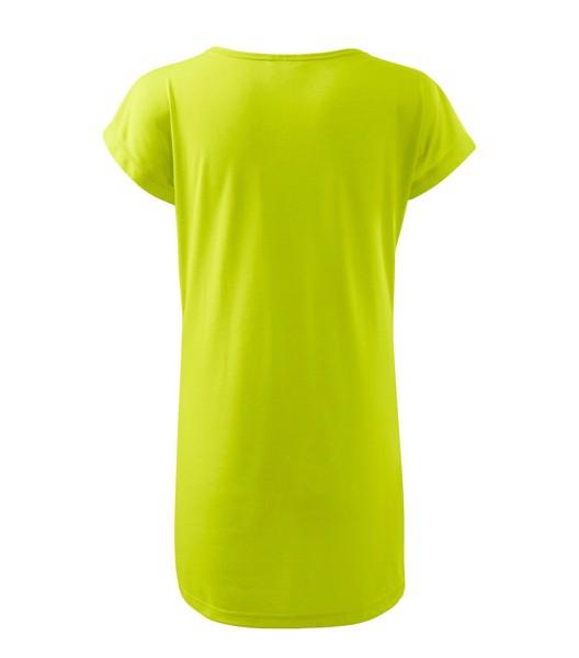 Tričko/šaty dámské Malfini Love - Limetková / XS
