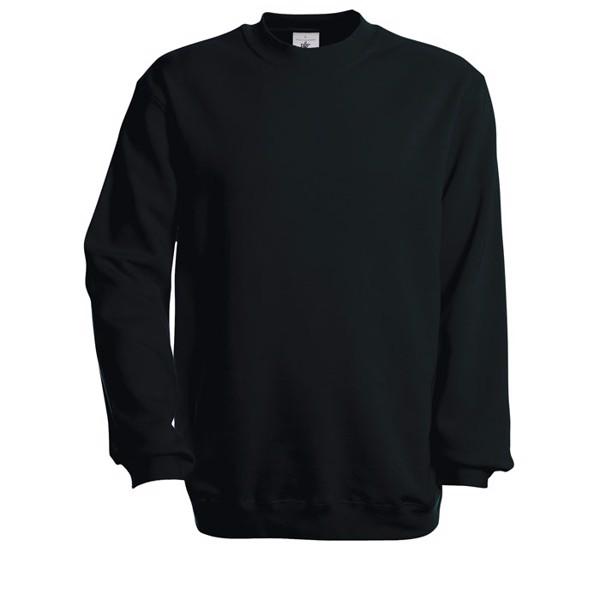 Sweat-shirt Set In Sweatshirt - Noir / XL