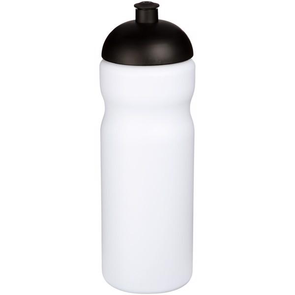 Sportovní láhev s kupolovitým víčkem Baseline® Plus 650 ml - Bílá / Černá