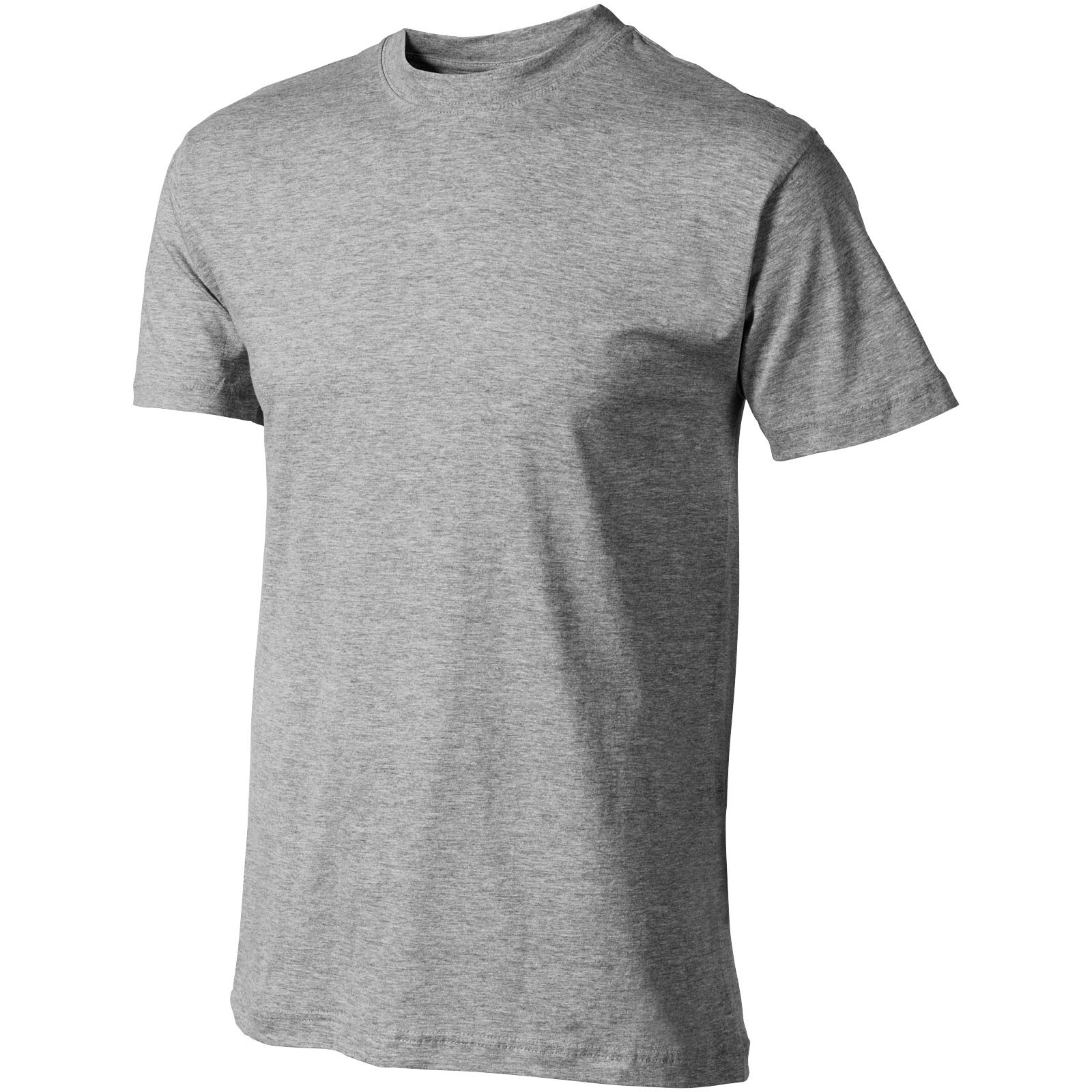 Return Ace short sleeve unisex t-shirt - Grey Melange / XL