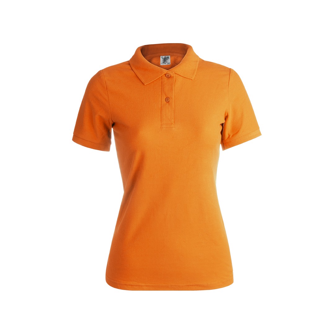 "Polo Mujer Color ""keya"" WPS180 - Naranja / S"