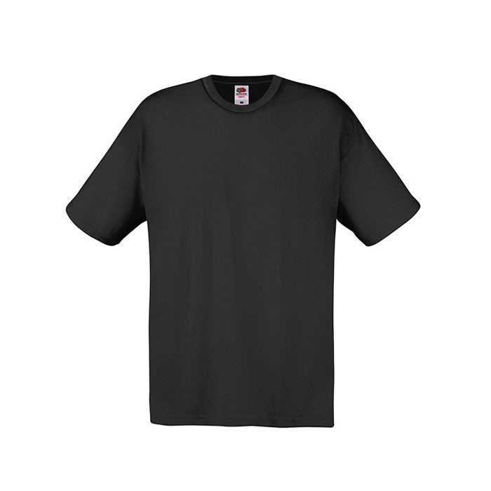 T-shirt Unisex 145 g/m² Original Full Cut 61-082-0 - Black / XXL