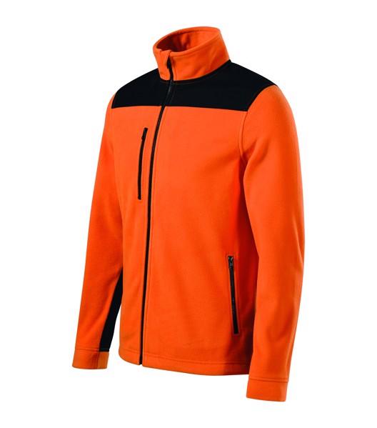 Fleece unisex Rimeck Effect - Oranžová / XL