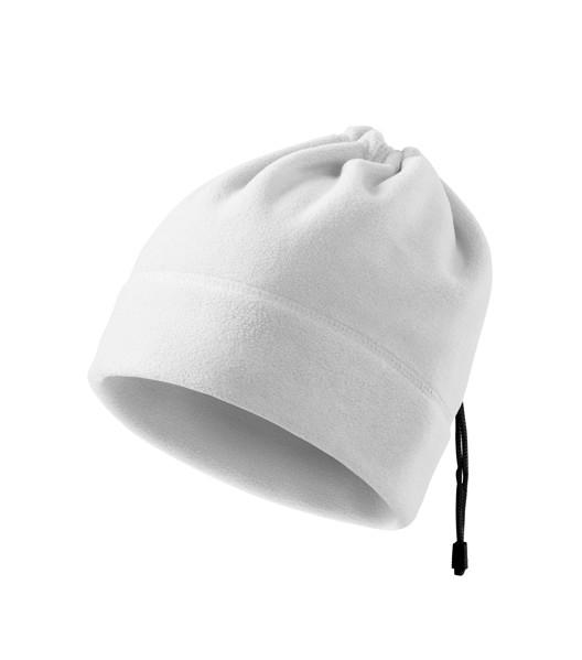 Fleece čepice unisex Malfini Practic - Bílá / uni