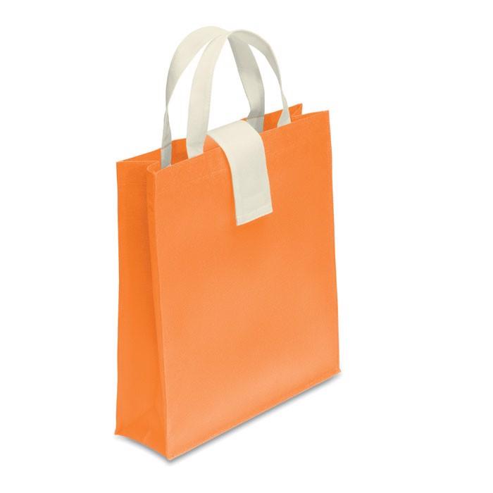 Nonwoven shopping bag Folby - Orange