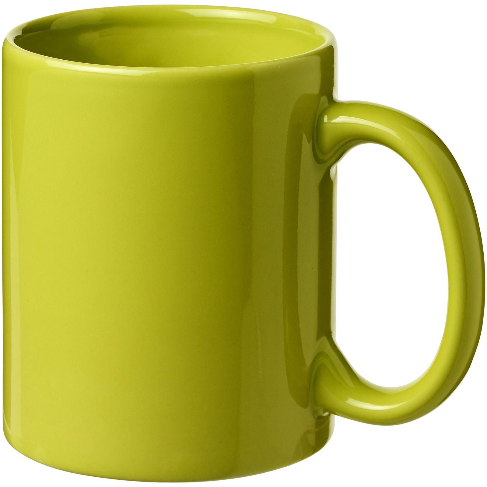 Santos 330 ml ceramic mug - Lime