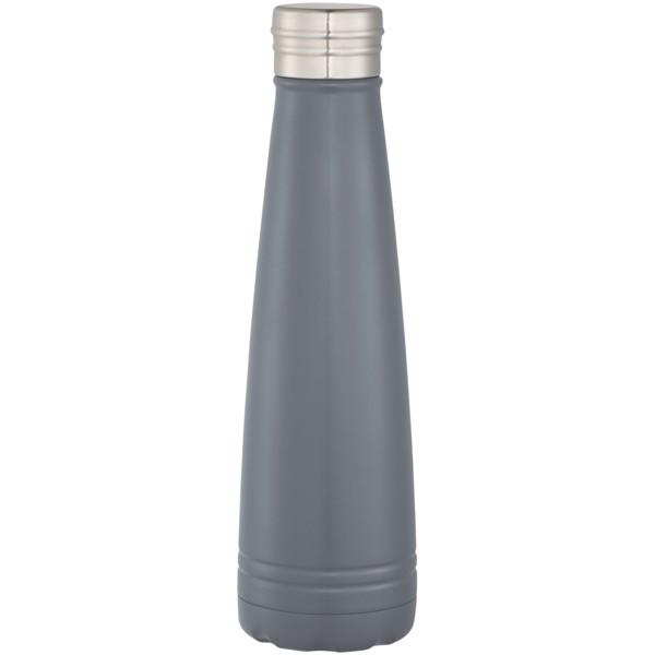 """Botella de 500 ml con aislamiento de cobre al vacío """"Duke"""" - Gris"""