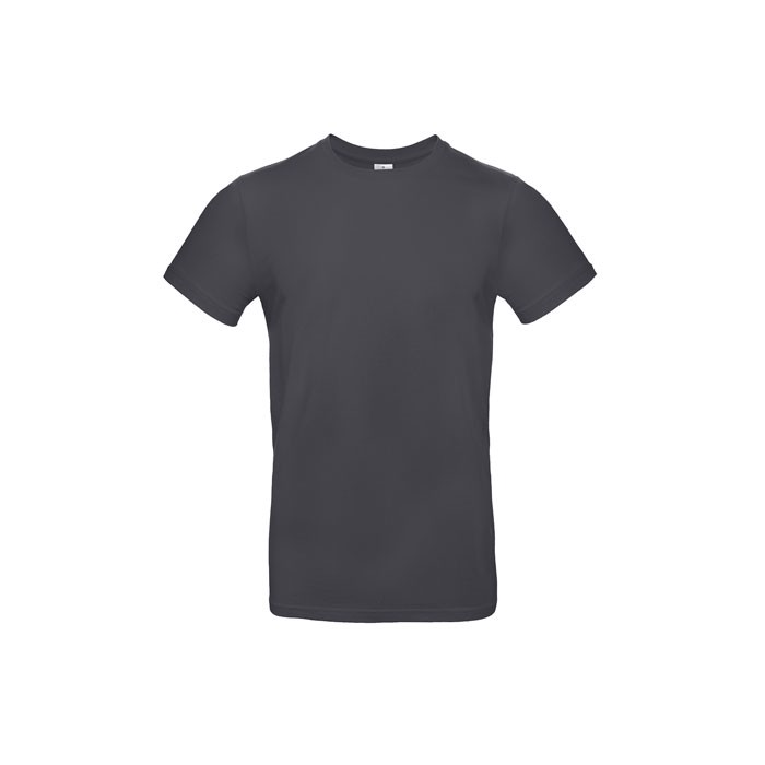 T-shirt male 185 g/m² #E190 T-Shirt - Dark Grey / XXL
