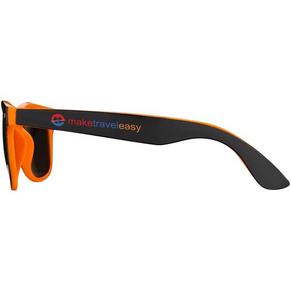 Baja sunglasses - Orange / Solid black