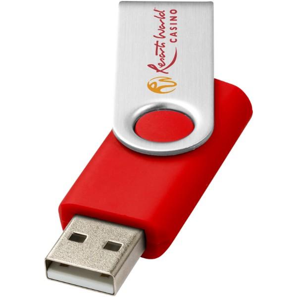 Rotate-basic 2GB USB flash drive - Bright red