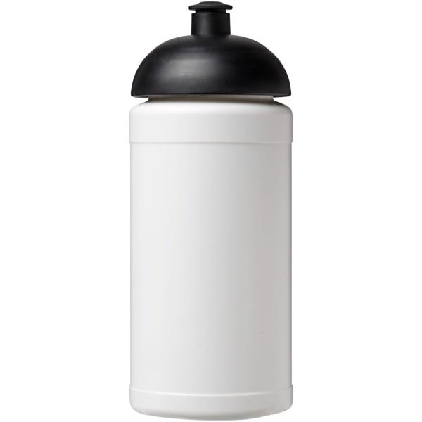 Sportovní láhev s kupolovitým víčkem Baseline® Plus 500 ml - Bílá / Černá