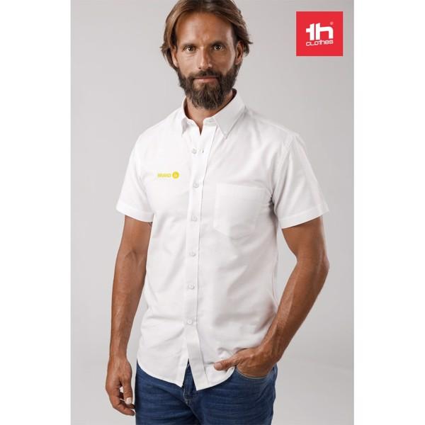 THC LONDON WH. Men's oxford shirt - White / XXL