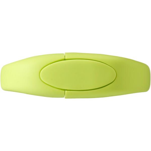 USB paměť náramek - Zelené jablko / 32GB