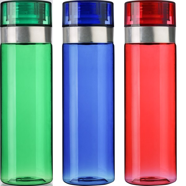 Tritan and PS bottle - Green