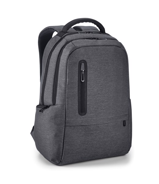 BOSTON. Laptop backpack 17'' - Dark Grey